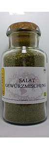 Salat Gewürzmischung Bio im Korkenglas