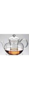 Teekanne aus Glas