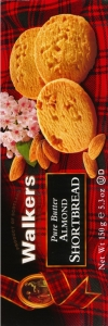 Walkers Kekse Shortbread Almond 150g