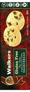Walkers Kekse Gluten Free Chocolate Chip 140g